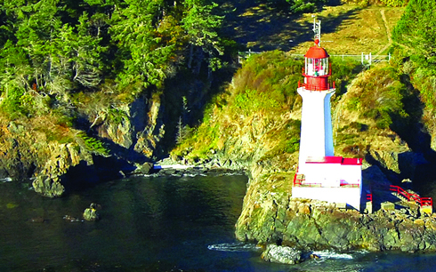 """A Lighthouse is a beacon of hope; a symbol of human Solidarity."" -Gary Geddes, BC poet & author"