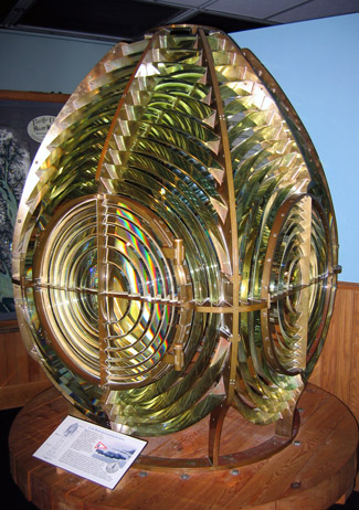 A 3rd Order Fresnel Lens - this one from a Lighthouse in the US